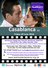 Dementia Friendly Matinée Screenings (Casablanca)