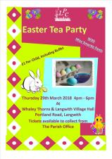 Easter Tea Party (Langwith Parish Council)