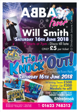 Shirebrook Town Show - It's A Knock Out, Abba Fever & Will Smith
