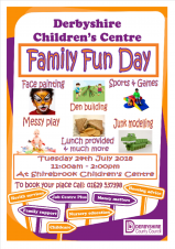 Derbyshire Children's Centre - Family Fun Day
