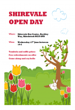 Shirevale Open Day