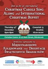 Christmas Carols Sing Along and International Christmas Buffet