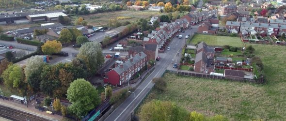 Aerial Shots of Shirebrook - 1
