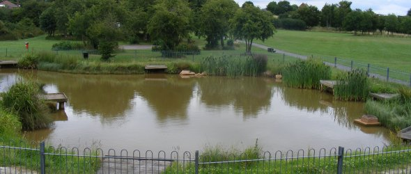 Shirebrook Town Park - Fishing Pond