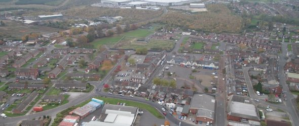 Aerial Shots of Shirebrook - 2