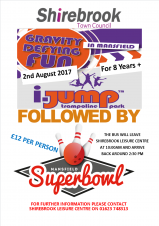 Leisure Centre (Day Trip) - i-Jump/Superbowl