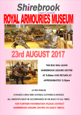Leisure Centre (Day Trip) - Royal Armouries Museum